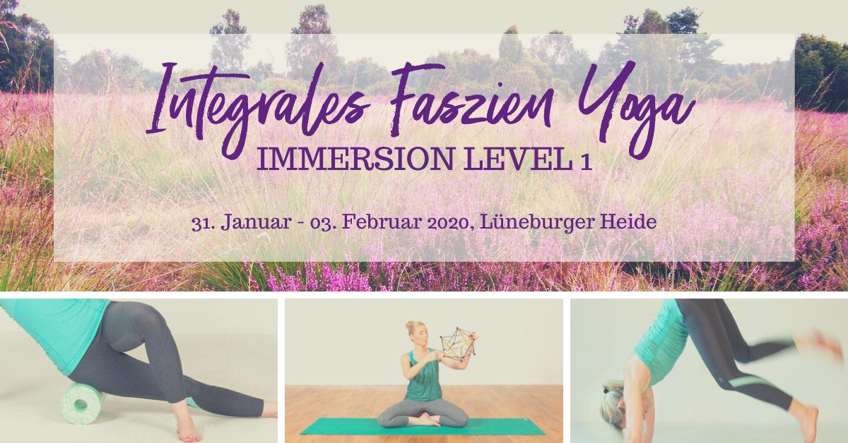 Faszien Yoga Immersion – Level 1 – Lüneburger Heide – Oktober 2020