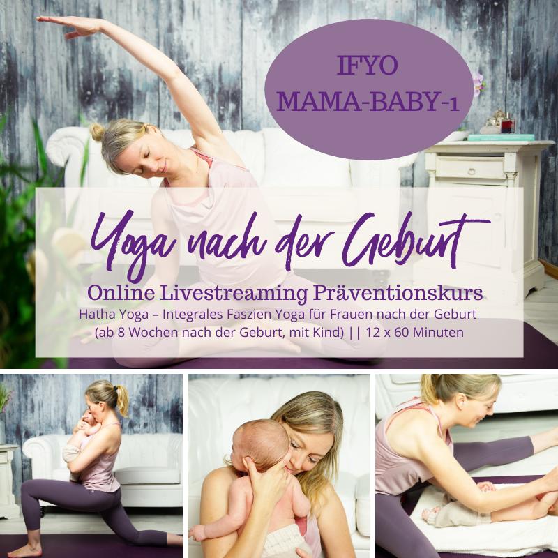 IFYO MAMA-BABY-1 – Integrales Faszien Yoga für Mütter