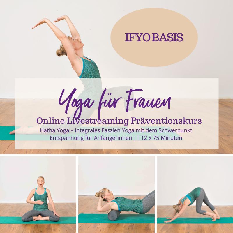 IFYO BASIS – Integrales Faszien Yoga für Frauen